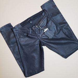 Flying monkey platinum black skinny Jean's NWT